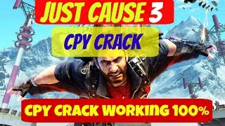 Just Cause 3 CPY Cracked Game Download | CPY Crack Only