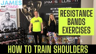 How To Train Shoulders || Resistance Bands Exercises || Exercise Demonstrations || Deltoids || Delts