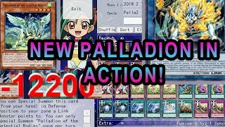 NEW YUGIOH PALLDIONS ARE THEY GOOD? 1HIT OTK 10K+ DAMAGE! GAME PLAY / DISCUSSION WITH DECK PROFILE!