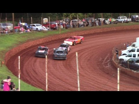 Winder Barrow Speedway Modified Street Feature Race 8/8/15
