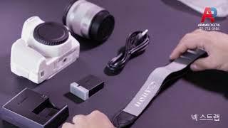 [아랑디지탈] 캐논 eos 200d 화이트 렌즈킷 개봉…