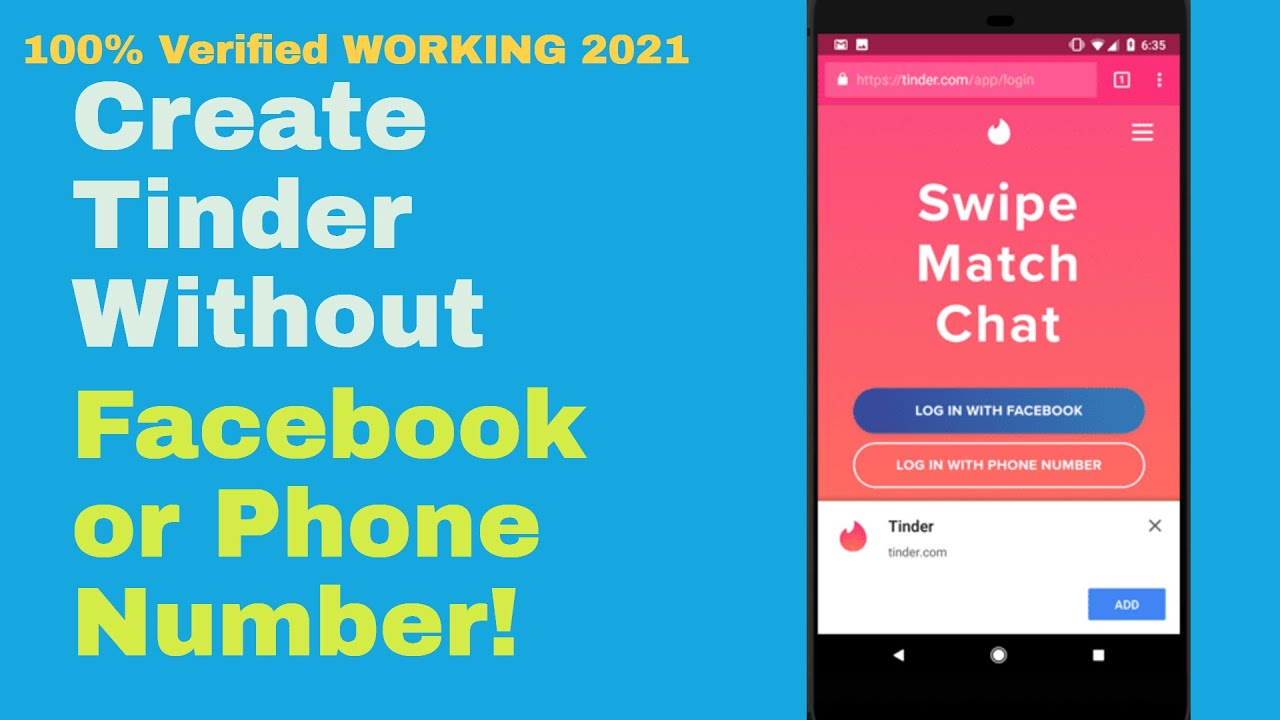 Verification bypass 2018 phone tinder How to