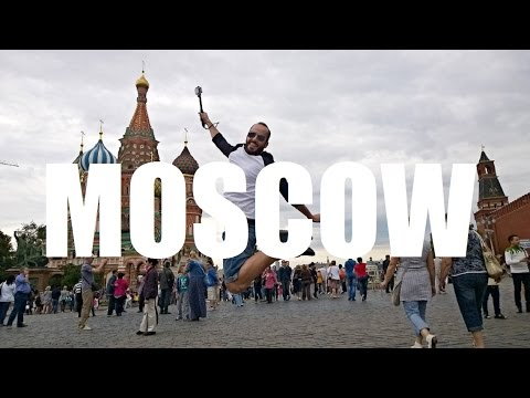 MOSCOW TRIP (RUSSIA). JUNE 2015