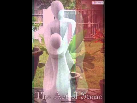 Natural stone & terrazzo products : modern statues abstract sculptures