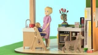 Maison de poupées color Djeco