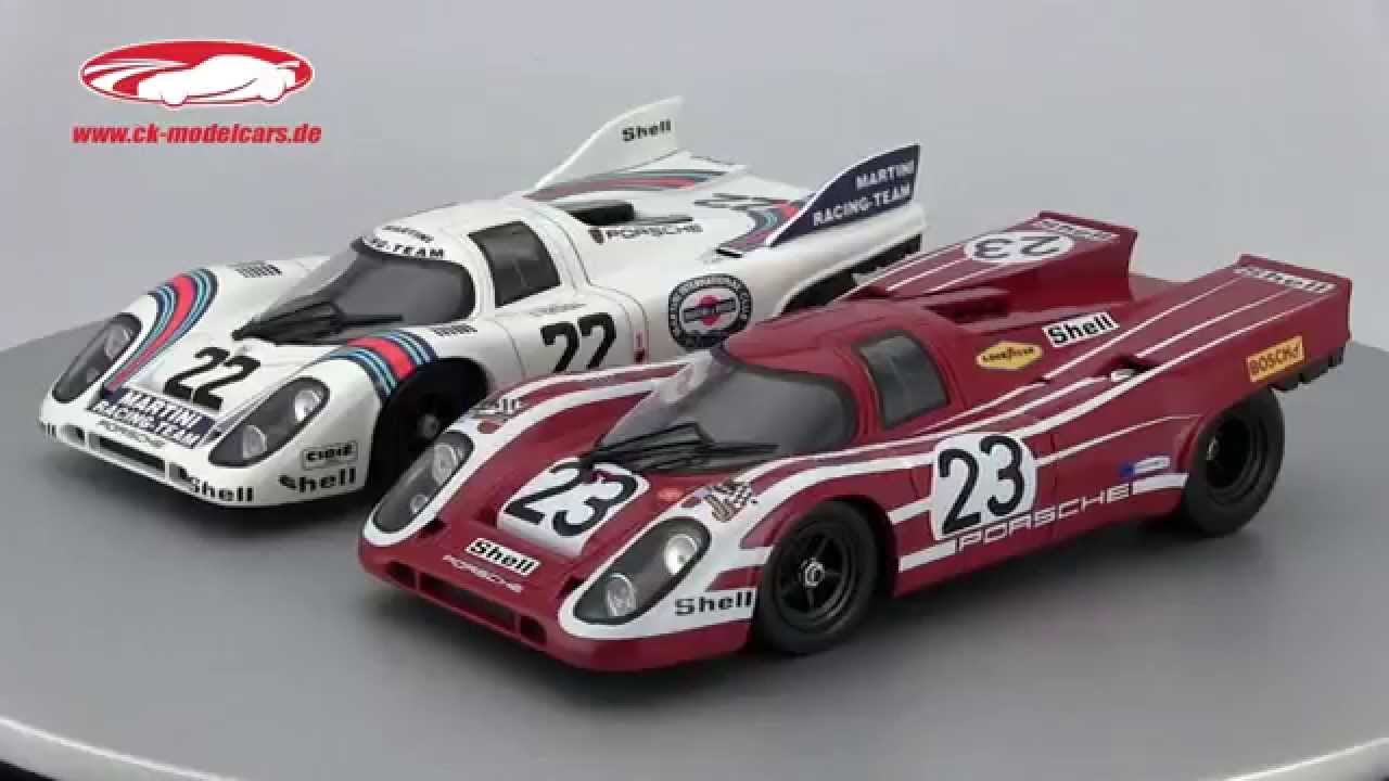 Ck Modelcars Video Porsche 917k 22 Winner 24h Lemans 1971 And