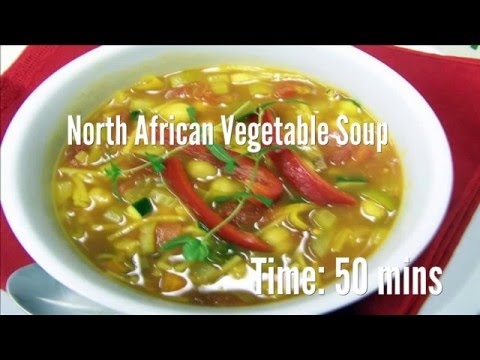 North African Vegetable Soup Recipe