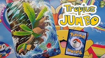 Peinture #31 - Mon propre Tropius Jumbo (Painting on Pokémon Jumbo Card)