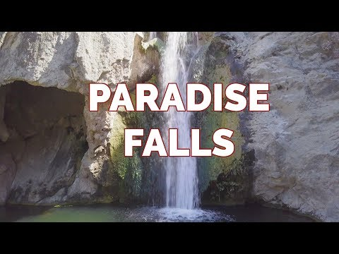 Paradise Falls in Wildwood Regional Park, Thousand Oaks, CA