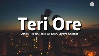Rista Naya Rabba Dil Chhu Raha hai🙈//Teri Ore Full Song #Lyrics #lovesong#SN