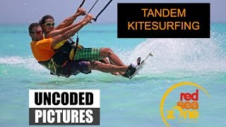Uncoded Pictures - Tandem kitesurfing in RedSeaZone