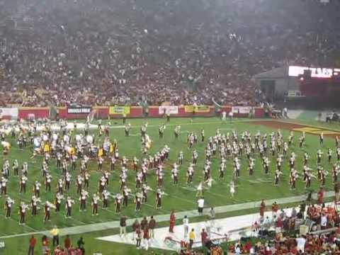 USC Trojan Marching Band | College Karaoke Medley Halftime Show