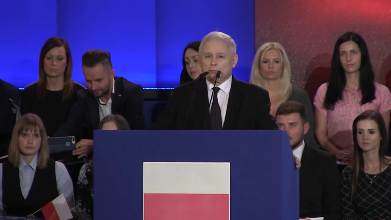Jarosław Kaczyński – Wystąpienie Prezesa PiS na kongresie Solidarnej Polski