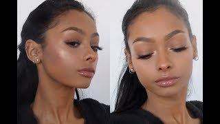 Fenty beauty foundation first impression review | Jayde Pierce thumbnail