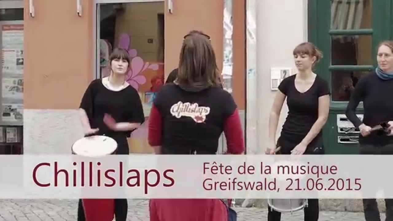 chillislaps sambatrommeln f 234 te de la musique greifswald 21 06 2015