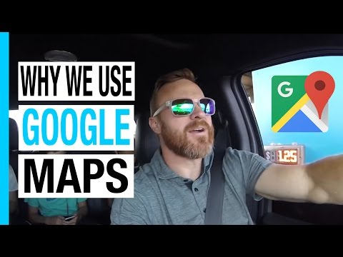 Why we use Google Maps on our RV Trip Across America