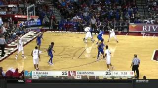Kansas at Oklahoma | 2016-17 Big 12 Men