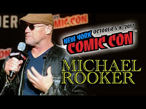 Michael Rooker goes crazy!