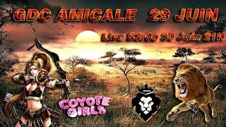 🔴 GDC Amicale Coyote Girls Vs Indika   Clash Of Clans
