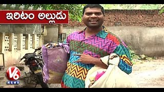 Bithiri Sathi As Illarikam Alludu | Jamlam Village Has 50% Illarikam Bridegrooms | Teenmaar News