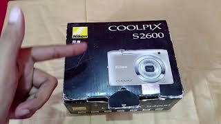 My first camera | Nikon Coolpix S2600 | Miraal Fatima
