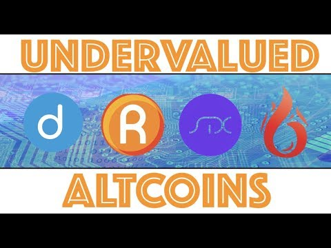 Top Undervalued Altcoin Cryptocurrency Projects Right Now