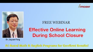 Effective Online Learning During School Closure