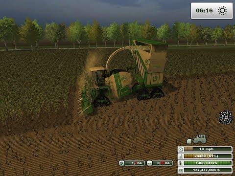 Farming Simulator 2013 Chopping Silage