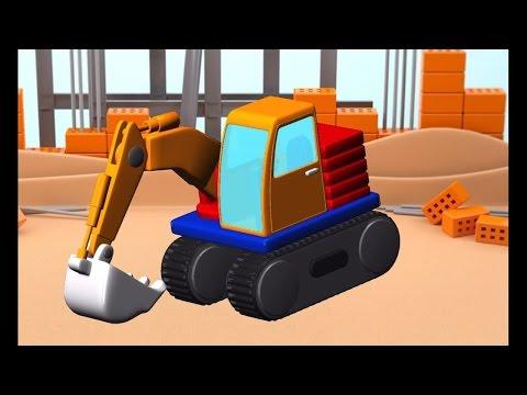 Build and Play ประกอบรถแม็คโคร รถดั้ม รถบรรทุก เฮลิคอปเตอร์ เรือ สำหรับเด็ก