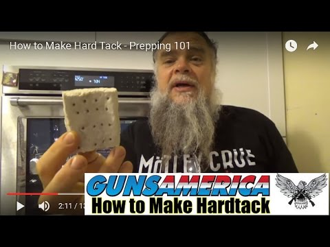 How to Make Hardtack - The Original Survival Food - Prepping 101