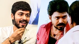"""""""Watching Mersal Teaser, First Thing I watched After BIGG BOSS EXIT"""" - Harish Kalyan   US103"""