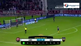 Video Gol Pertandingan Lanus  vs Boca Junior