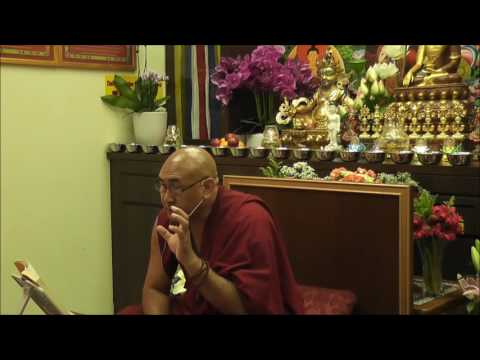 20.09.2016 - TENET SYSTEM III - Madhyamaka - Session 22