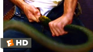 Snakes on a Plane (2006) - Snake in the Restroom Scene (1/10) | Movieclips