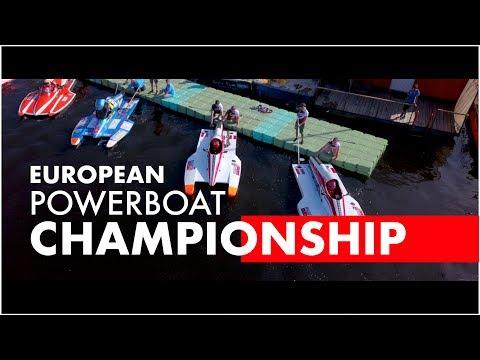 European Powerboat Championship Lithuania Kaunas 2018