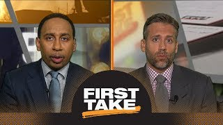 Stephen A. and Max react to Paul George becoming unrestricted free agent | First Take | ESPN