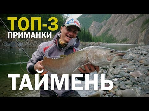 ТОП-3 приманки на ТАЙМЕНЯ. Рыболовное путешествие в Саянских горах