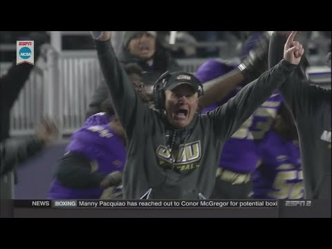 JMU wins last second thriller over Weber State to reach FCS semifinals