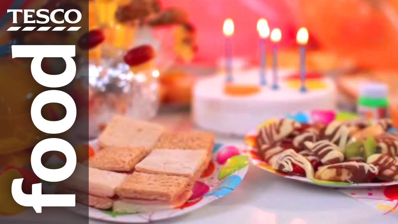 children s party food ideas tesco food youtube
