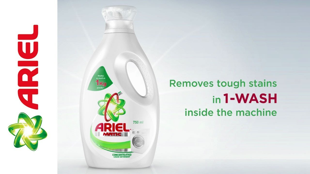 New Ariel Matic Concentrated Liquid | Hindi
