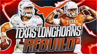 TEXAS LONGHORNS REBUILD -- Sam Ehlinger Breaks Colt McCoys Records | NCAA Football 14 Rebuild