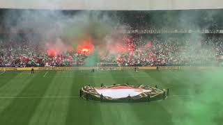 Feyenoord  kampioenschaps wedstrijd Opkomst 2017