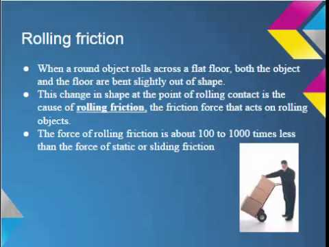 Worksheets Types Of Friction types of friction youtube friction