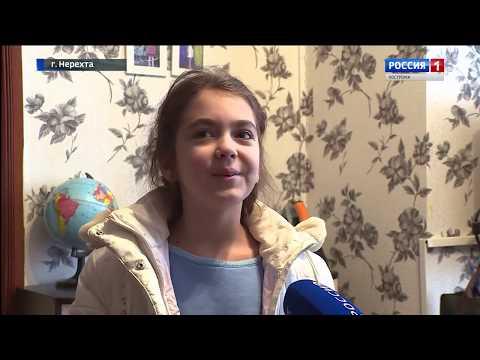 Как 10-летняя девочка спасла дом в Нерехте!