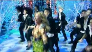 GANGNAM STYLE Анита Цой. Новый год 2013 на Первом канале.HD.