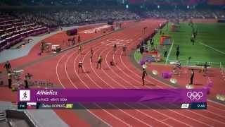 London 2012 100m in 9.66