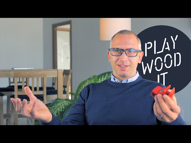 Playwood - Una startup nata da un morsetto