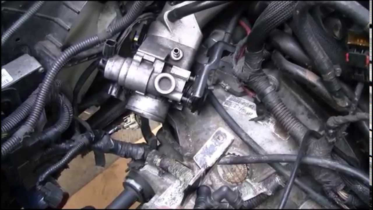 maxresdefault how to remove transmission from an srt 4 youtube Clutch Assembly Diagram at nearapp.co