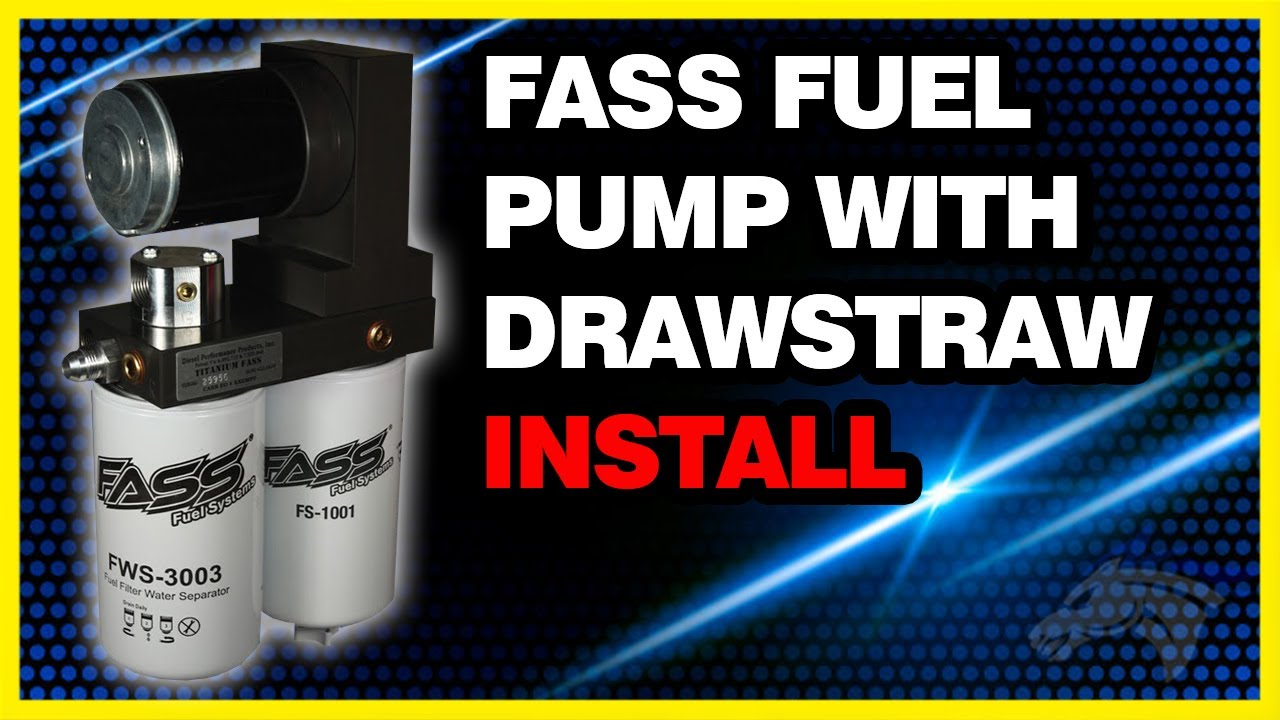 FASS Fuel Pump System w/ Drawstraw Install: 2002 Dodge Cummins