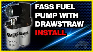 FASS Fuel Pump with Drawstraw Install: 2002 Dodge Cummins